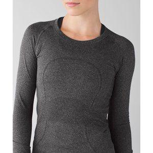 Lululemon Swiftly Grey Long Sleeve Size 6